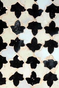 Mosaico de las hojas. La Alhambra. Granada.