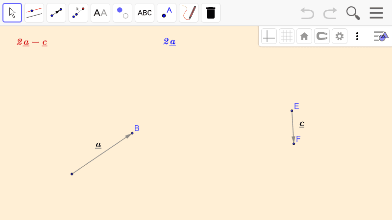 PRACTICE 3.  Operations with vectors  Press Enter to start activity