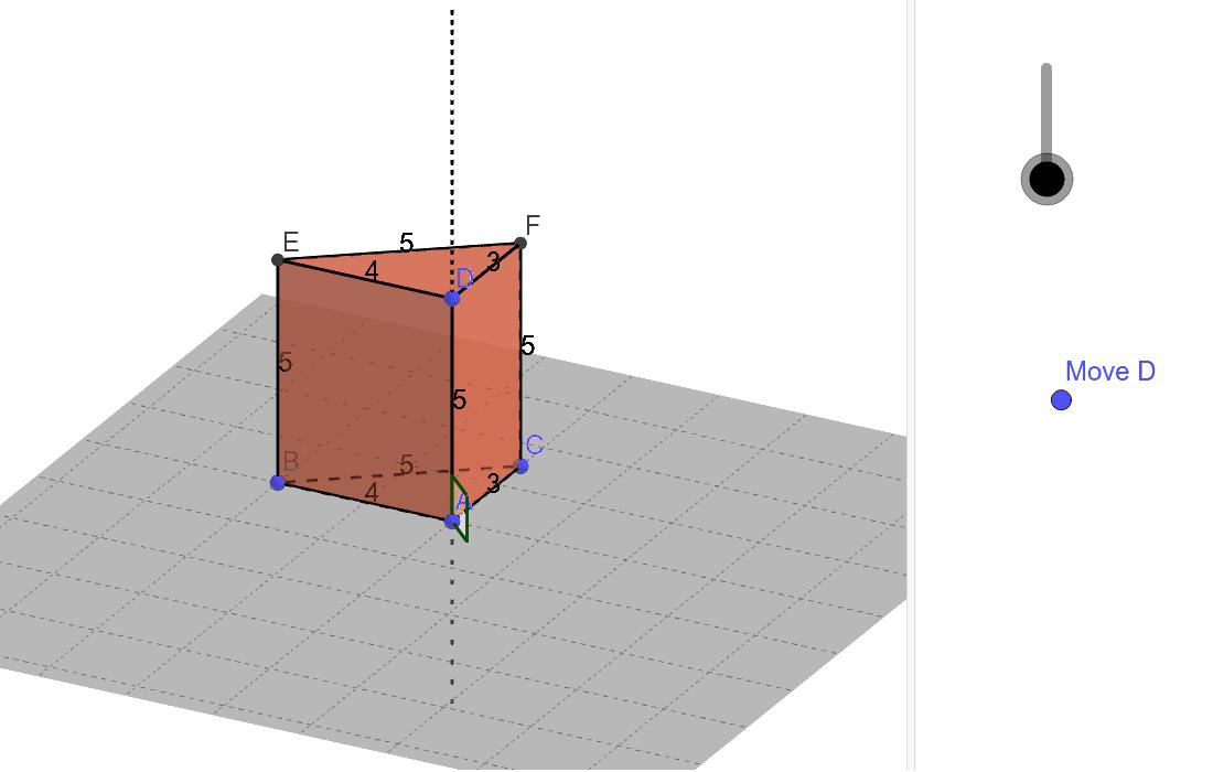 Kui prisma külgservad on risti põhjadega, siis prismat nimetatakse püstprismaks, vastasel juhul kaldprismaks.  Press Enter to start activity
