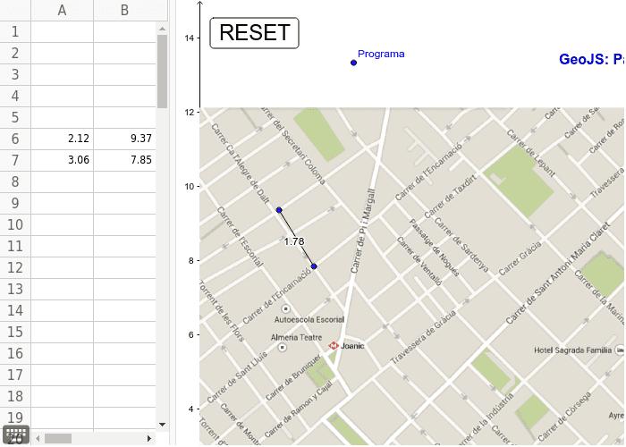 GeoGebra amb JavaScript: GeoJS Premeu Enter per iniciar l'activitat