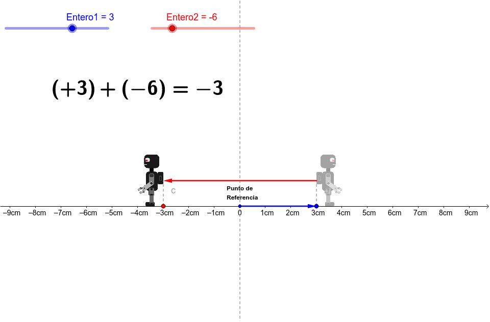 mueve el deslizador y se movera el robot