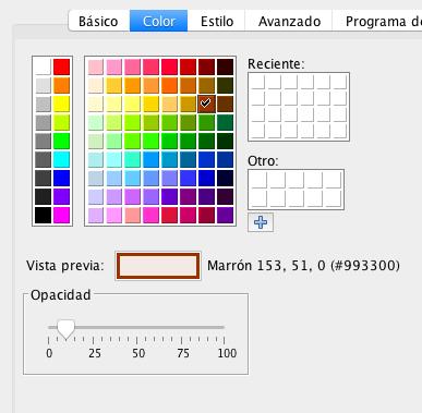 """Para definir el color y la opacidad de las superficies tenemos que clicar con el botón derecho en el objeto [u]en la Vista Algebraica[/u] y acceder al menú """"[b]Propiedades[/b]""""."""