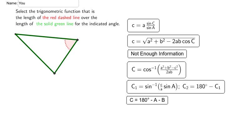 Solving Oblique Triangles