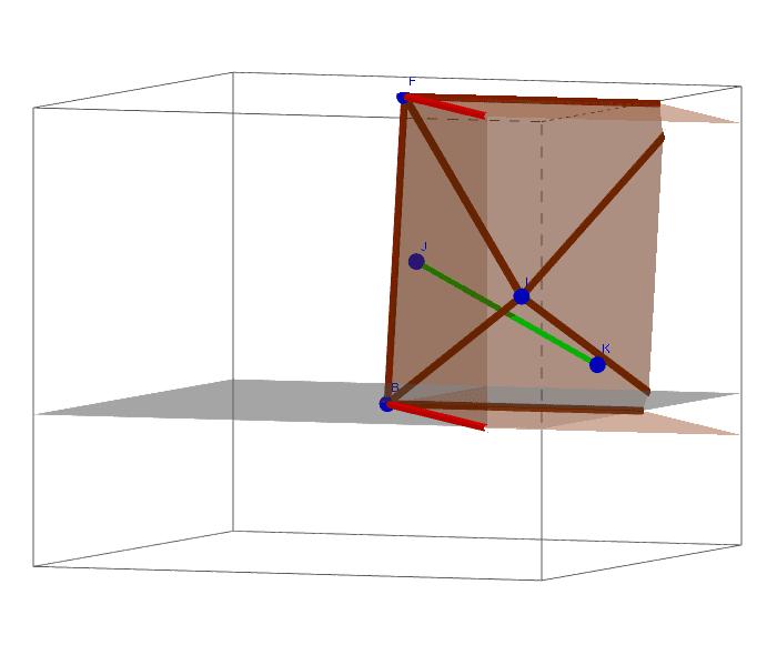 Ejemplo de poliedro cóncavo.