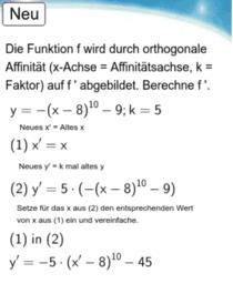 10I - Potenzfunktion - Orthogonale Affinität