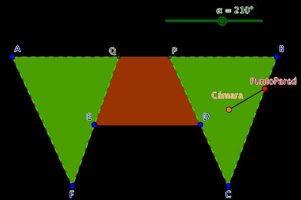 Figura 4b. Sala hexagonal.