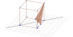 Rotate cuboid with midpoint triangle