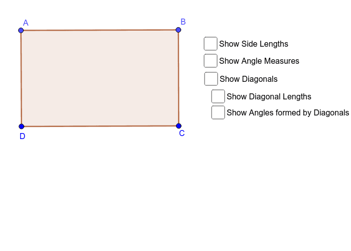 Rectangle ABCD Press Enter to start activity