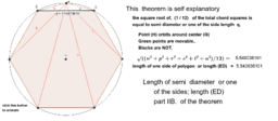 theorem relating one side of a polygon