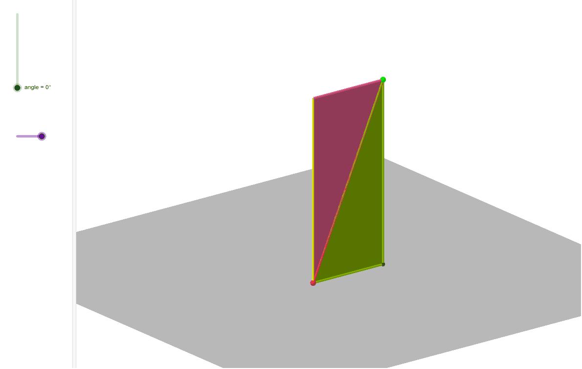 El volum de color verd és el doble del volum de color rosa. Perquè? Premeu Enter per iniciar l'activitat