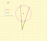Potencia dunha circunferencia
