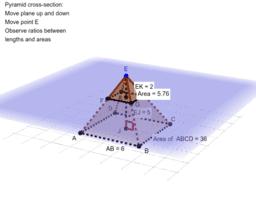 Pyramid cross section