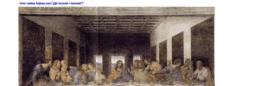 """Perspektiv - Da Vinci`s """"Siste måltid"""""""