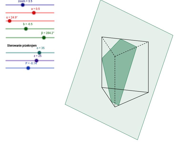 Graniastosłup trójkątny / Triangular prism