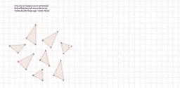 Tinematte likformiga trianglar
