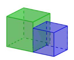 Een kubus verdubbelen