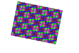 Pythagorean Theorem by Tessellation #97 Tiling