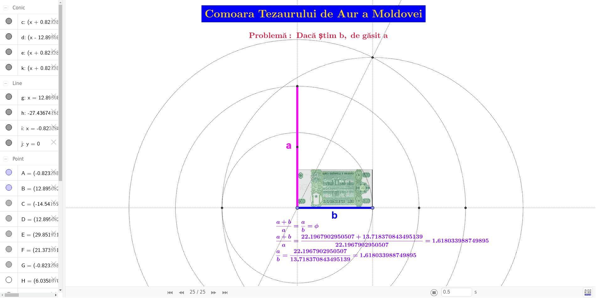 Comoara Tezaurului de Aur a Moldovei [Secțiunea de Aur - A fi sau nu a fi?]