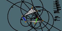 Costruzione meccanismo (catena cinematica di Stephenson)