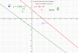 Solve System of Equations Practice y=mx+b V2