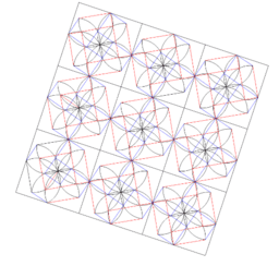 Pythagorean Theorem by Tessellation # 89 Tiling