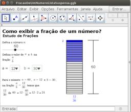 Divulgação: Como exibir a fração de um número?