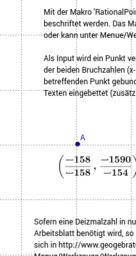 Umwandeln Gleitkomma-Zahlen in rationale Zahlen