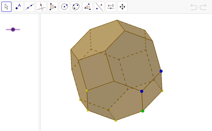 El teradecaedre amb la seva eina Premeu Enter per iniciar l'activitat