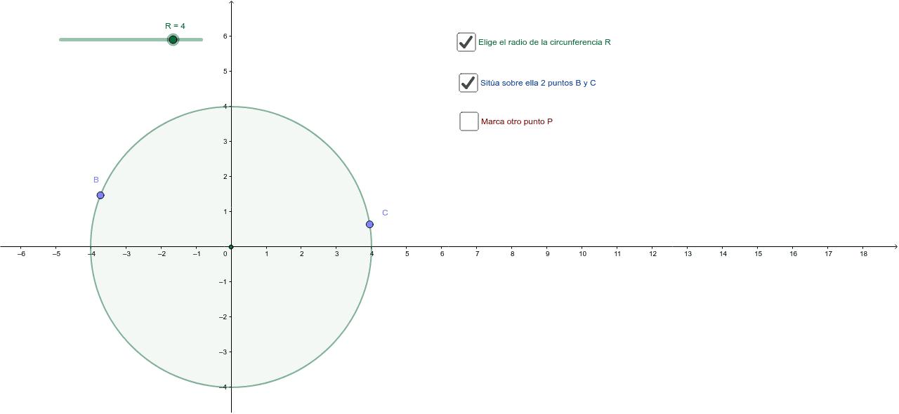 Lugar geométrico de los ortocentros de los triángulos sobre una circunferencia