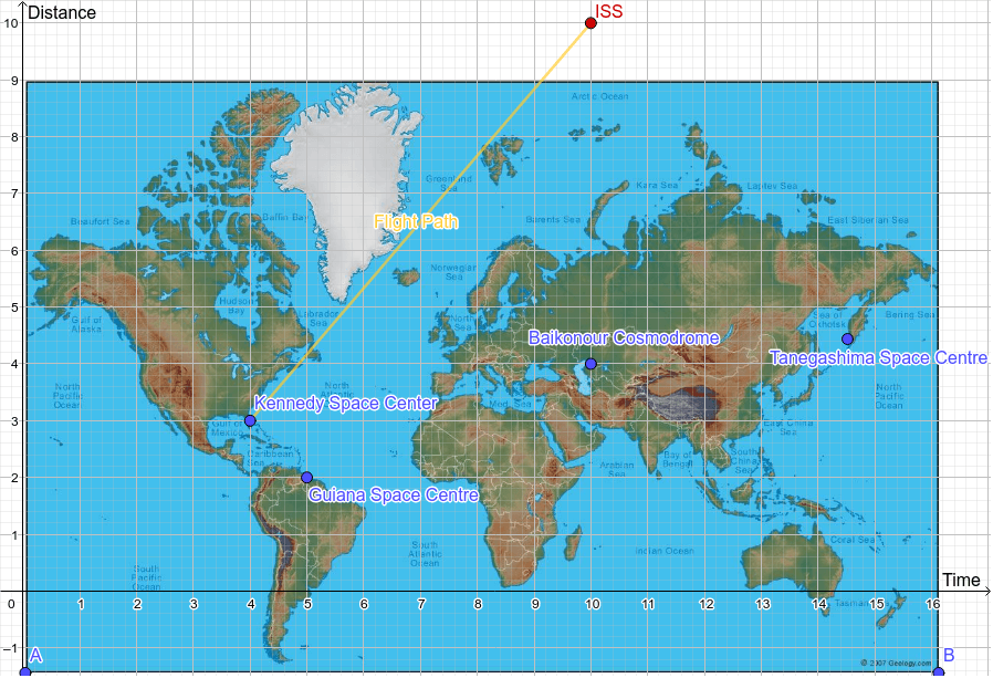 Map of Launch Sites Worldwide