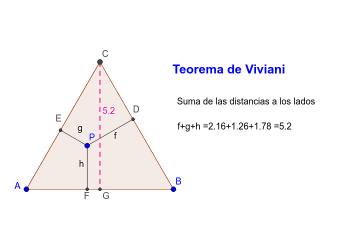 Teorema de Viviani