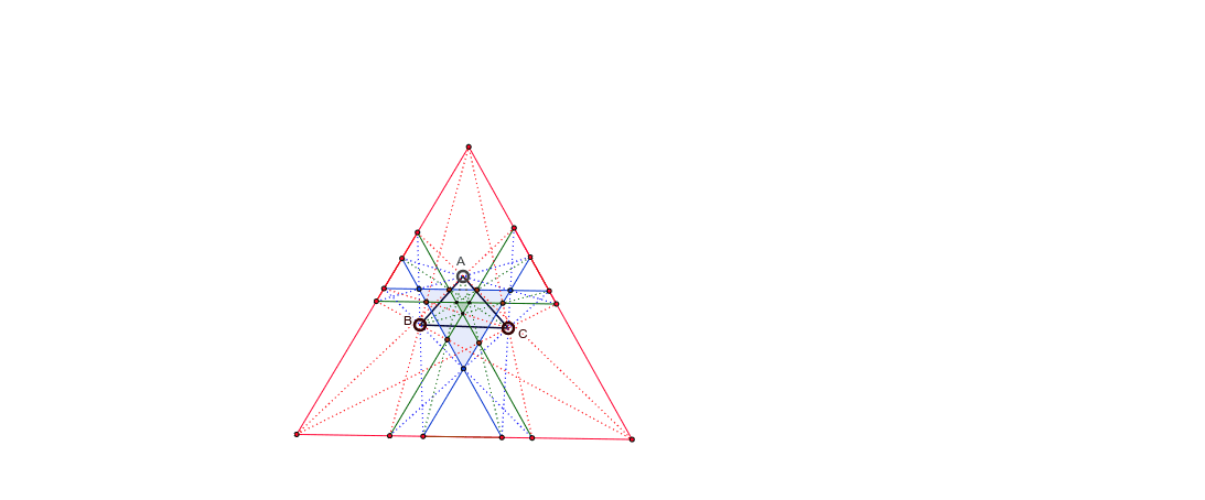 May drag any of the vetrices of the triangle but maintain its position with respect to the opposite side.  Press Enter to start activity