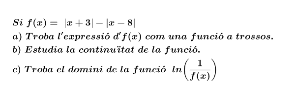 Cada vegada que l'obris és generarà una funció diferent. Premeu Enter per iniciar l'activitat