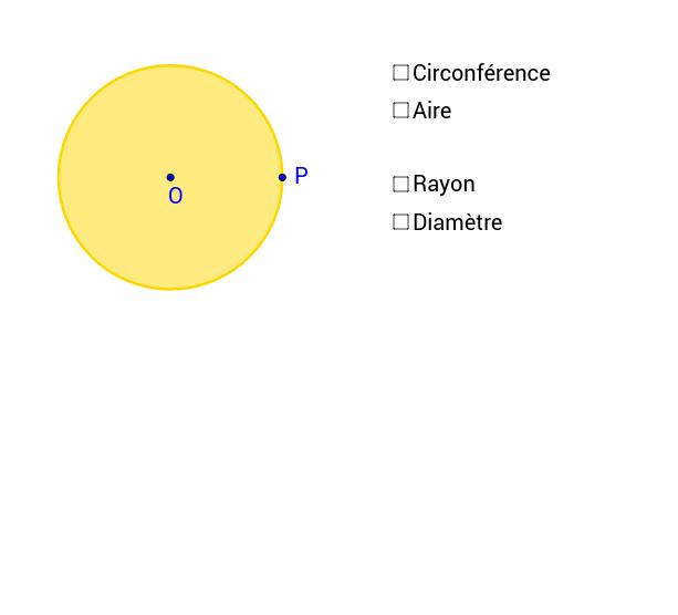 Circonférence du cercle et aire du disque