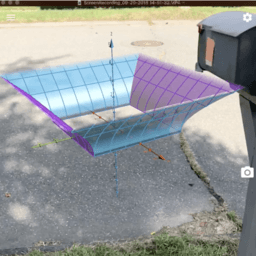 Mailbox Top (AR Modeling Challenge)