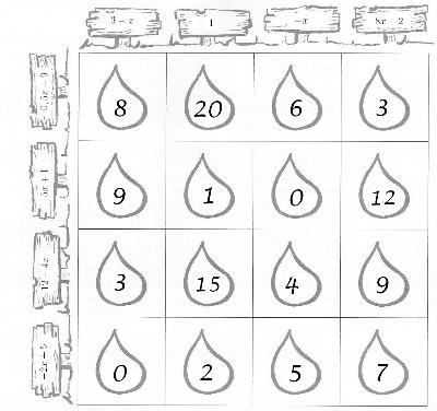 Spielplan a)