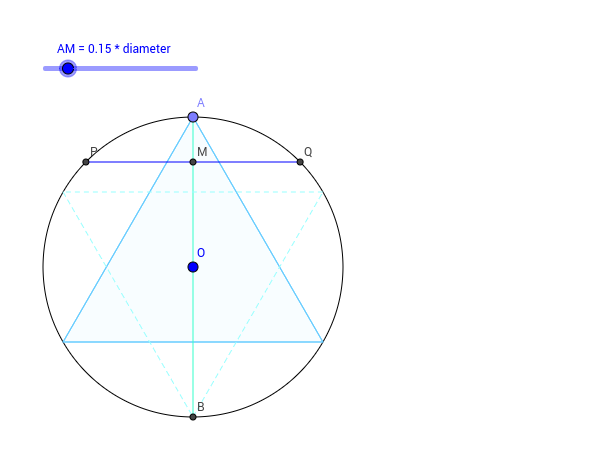 chords orthogonal to given diameter Press Enter to start activity