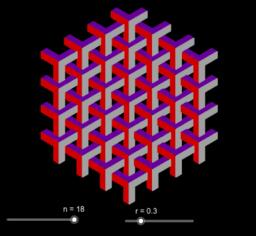 Tesselación hexagonal