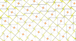 Pythagorean Theorem by Tessellation # 86 Tiling