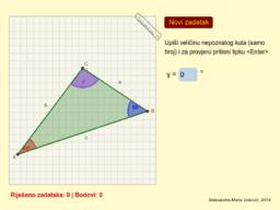 VJEŽBALICA 2: Zbroj kutova u trokutu