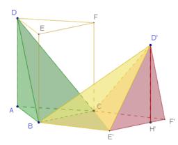 Pyramiden im Prisma