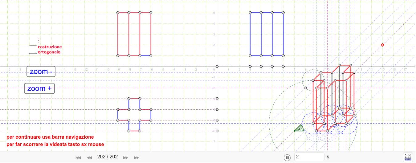 per variare l'assonometria spostare il punto move-mod.21.02.2019