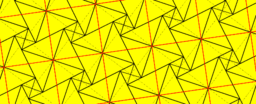Pythagorean Theorem by Tessellation # 63 Tiling