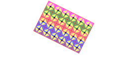 Pythagorean Tessellation # 131 Tiling