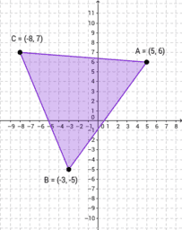 Perimeter of Triangles on the Coordinate Grid