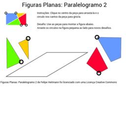 Figuras Planas: Paralelogramo 2