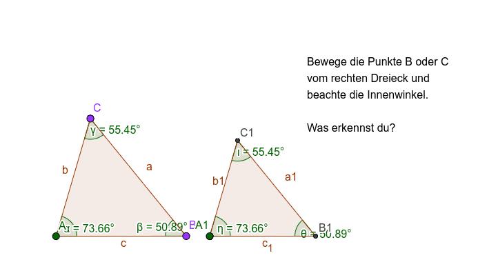Ähnliche Dreiecke Drücke die Eingabetaste um die Aktivität zu starten