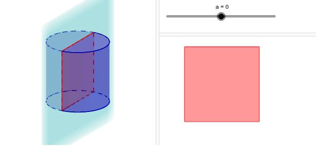 """Déplacer le curseur""""a"""" afin de faire bouger le plan vertical. Tapez """"Entrée"""" pour démarrer l'activité"""