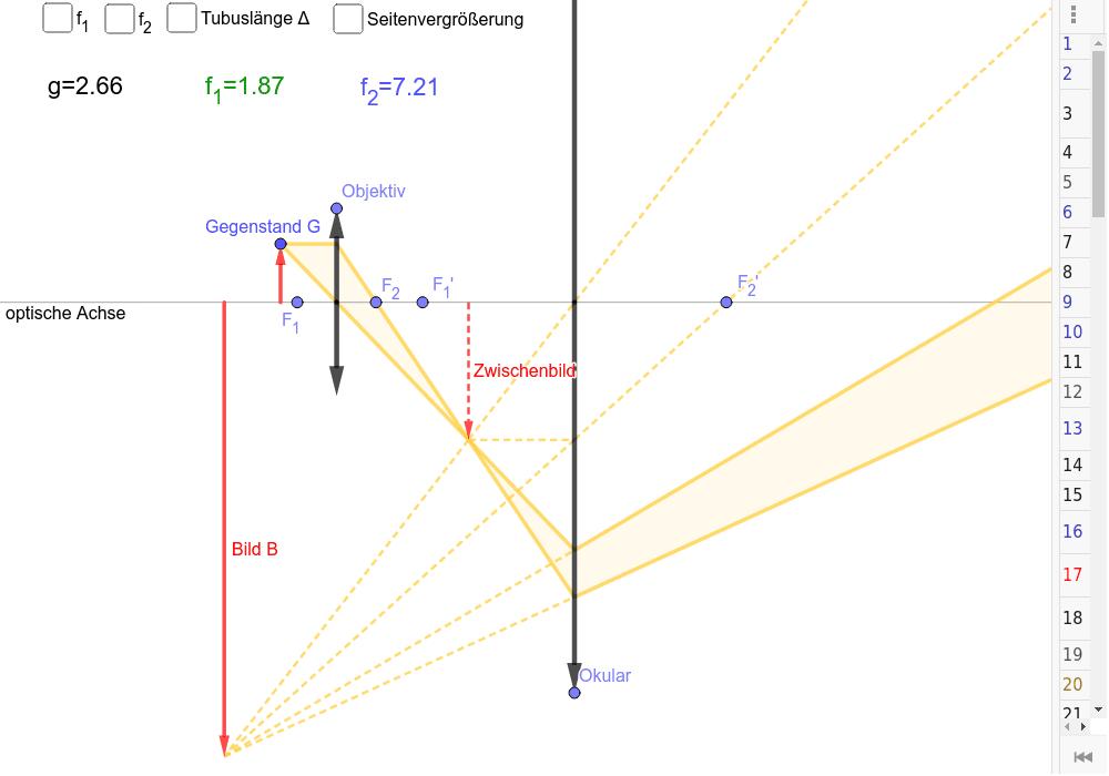 Spiele das Konstruktionsprotokoll ab (Ziehe den Balken am rechten Bildrand nach links)!
