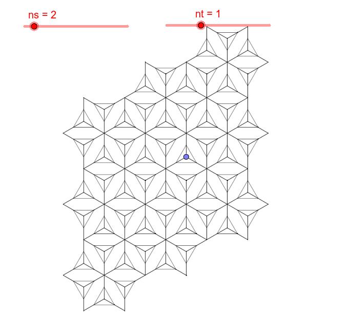 Déplacer le point bleu ou cliquer dessus (move blue point or clic on it)